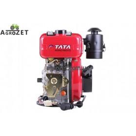 Дизельний двигун 173DE - під шліци d25 мм з електростартером