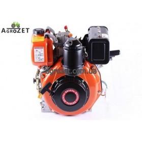 Дизельний двигун 178FE - під шпонку d25 мм з електростартером