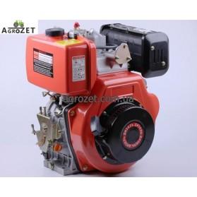 Дизельний двигун 186FE (під шліци d25 мм) з електростартером