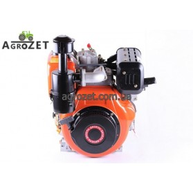 Дизельний двигун 186FE (під шпонку d25 мм) з електростартером