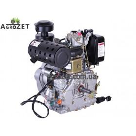 Дизельний двигун F192FE - під шпонку d25 мм з електростартером